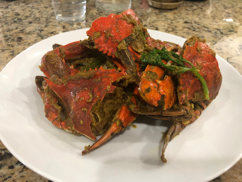 Leftover Curry Crabs Miemonster